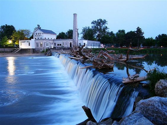 Our Wedding Venue Old Mill Museum And Dam In Dundee Michigan