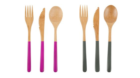 Bamboo Eco-Chic Cutlery for Summer | AHAlife