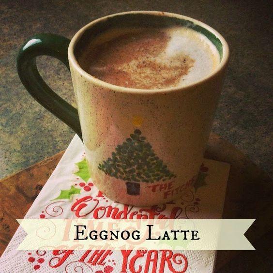 Eggnog Latte:
