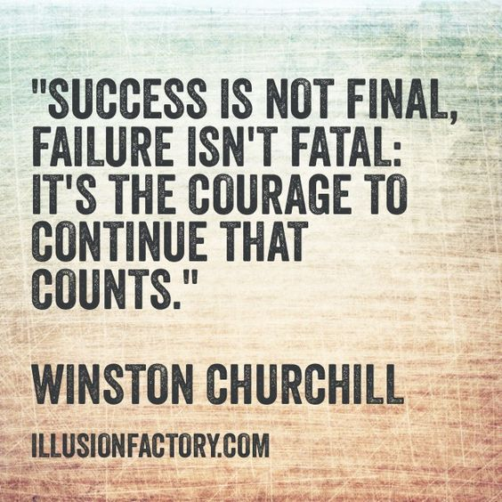 Winston Churchill Quote On Failure: Winston Churchill, Great Quotes And Finals On Pinterest