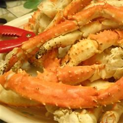 Lemon grass and ginger bring these steamed crab legs to a whole new level of deliciousness - with Asian kick! Serve with fresh spinach salad or favorite side. Use drawn butter for dipping, or try lemon juice, salt, pepper and sugar for tangy sauce. Enjoy!