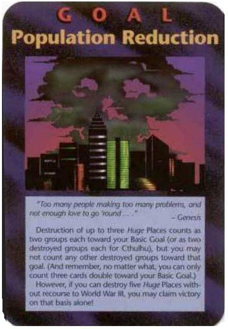 False Flag Watch for Dallas, TX – 'JFK Date' It's been brought to my attention by a reader who visited my article on US Cities – Nuclear False Flag that an Illuminate Game Card called Population Reduction has some similarity — at least symbolically — to the Bank of America Plaza Bldg. in Dallas, TX....illuminati population reduction card.