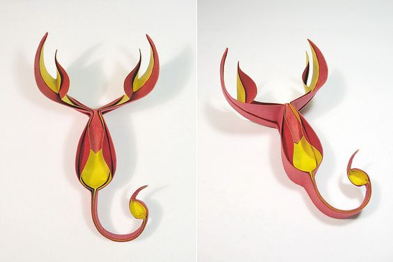 Fire scorpion   Flickr - Photo Sharing! Creator: Nguyễn Hùng Cường Designed & folded: April 2012 Material: one uncut square of duo crumpled paper