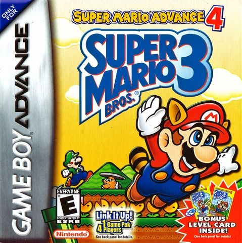 Complete Super Mario Advance 4 Super Mario Bros 3 Game Boy