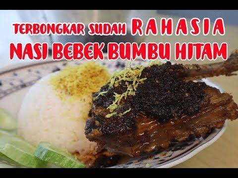 Resep Rahasia Nasi Bebek Bumbu Hitam Youtube Makanan Resep Masakan