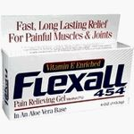Flexall 454 Gel Original - 4 Oz by Flexall. $5.99. SKU=180489The Mininimum EXP date on product:1 yearMANUFACTURER:CHATTEM LABS.INDICATIONS:FLEXALL Topical analgesic that is fast acting and clinically proven to provide fast, long-lasting relief for minor arthritis and other muscle and joint pain. It is specially formulated for relief of muscle & joint pain including backache,bursitis, muscle strain & sprain, and tendonitis.DIRECTIONS:Apply generously to affected ...