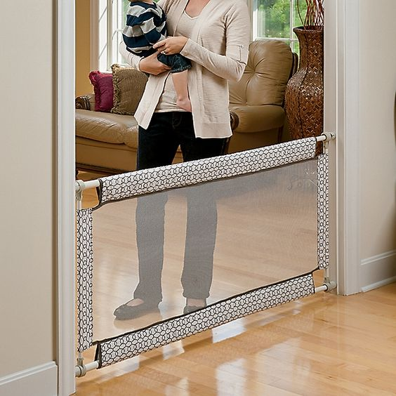Curtain Rods Baby Girls And Child Safety Gates On Pinterest
