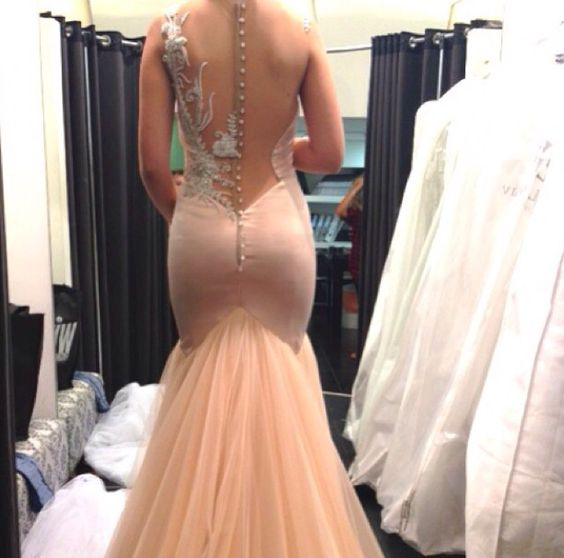 Fabulous fitting at Galia Lahav studio. Omg the back's of these dresses