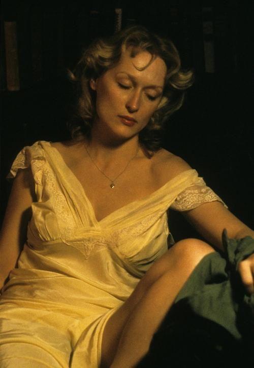 """Meryl Streep en """"La decisión de Sophie"""", 1982"""