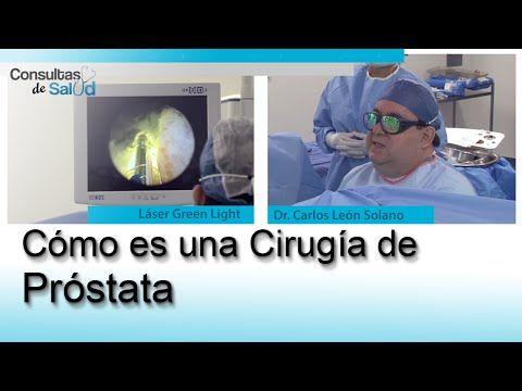 cirugía de próstata uk