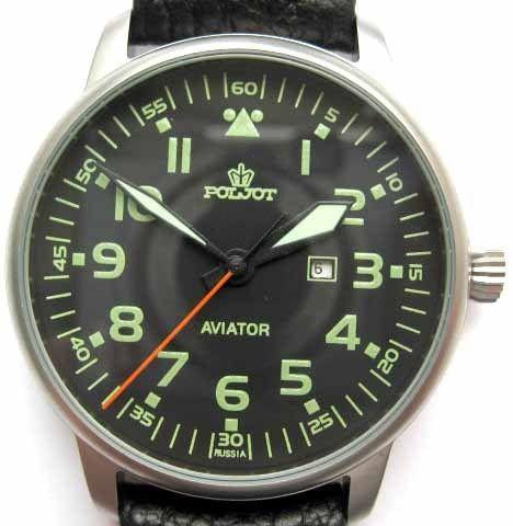 Russian Watch Poljot Aviator | eBay
