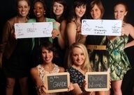 Bridesmaid pic: How each bridesmaid met the bride. Superb :)