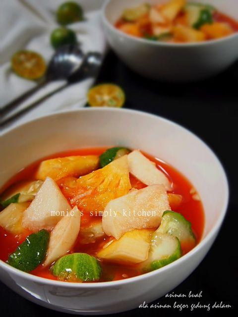 Asinan Buah Bogor Gedung Dalam Makanan Ringan Pedas Buah Segar Makanan Ringan Sehat