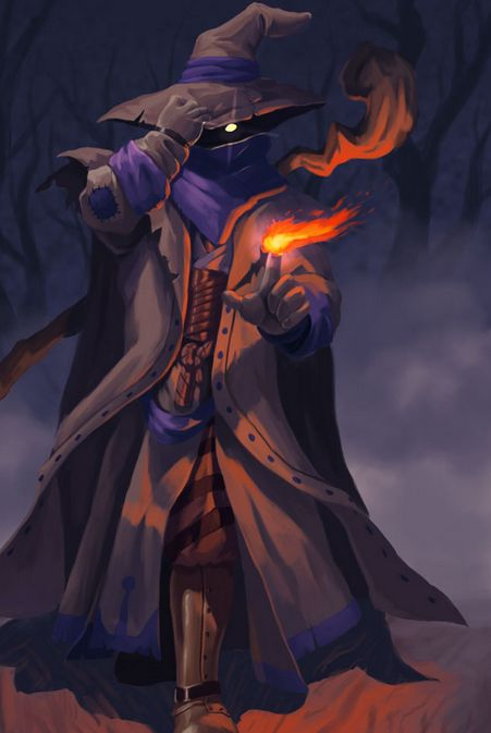 Black Mage from Final Fantasy Tactics.