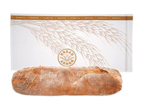 Bread Armor Ciabatta Bread Bags, 2-Pack by Bread Armor. $5.16. Multi-layer barrier film keeps air and moisture out; locks in freshness. Set of 2 storage bags Ciabatta loaves. Resealable, reusable and recyclable. Also great for marinating steaks or fish. FDA approved; made in the USA. There's nothing like a warm loaf of artisan bread fresh out of the oven from your local bakery. For years we brought home perfect baked loaves to have with our meals, only to find them stale when we...