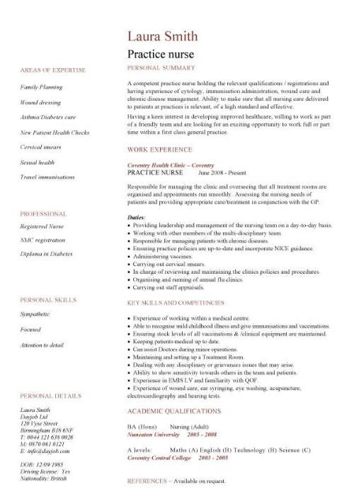 Healthcare Resume healthcare resume example Nursing Cv Template Nurse Resume Examples Sample Registered Resumes Healthcare