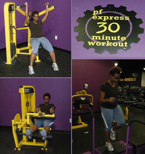 Free Weights Planet Fitness: Pf Express 30 Minute Workout