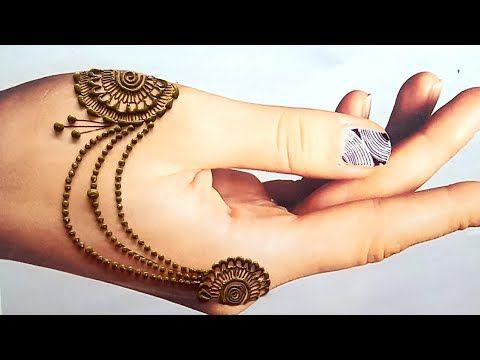 latest jewellery mehndi design 2021