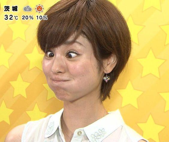 曽田麻衣子の変顔