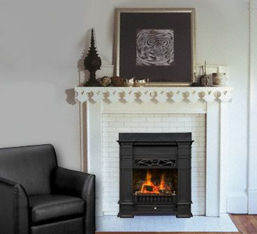 gas fireplaces senator in tile fireplace home