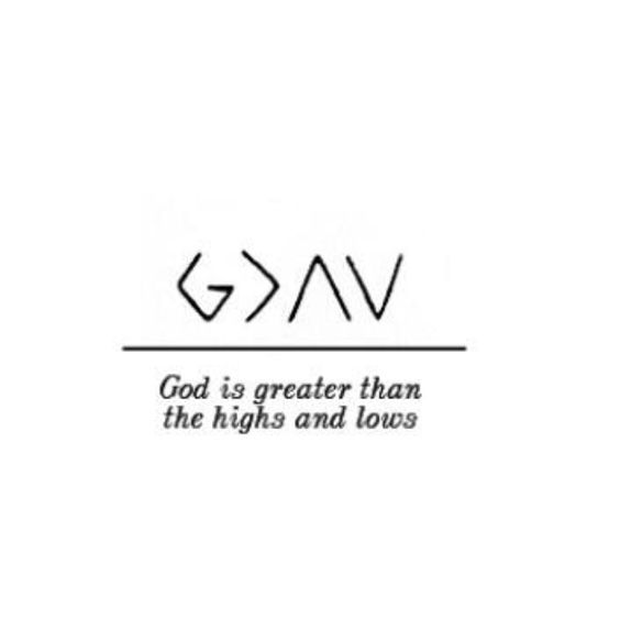 God is greater than highs and lows. This is sooooo cool!!!!