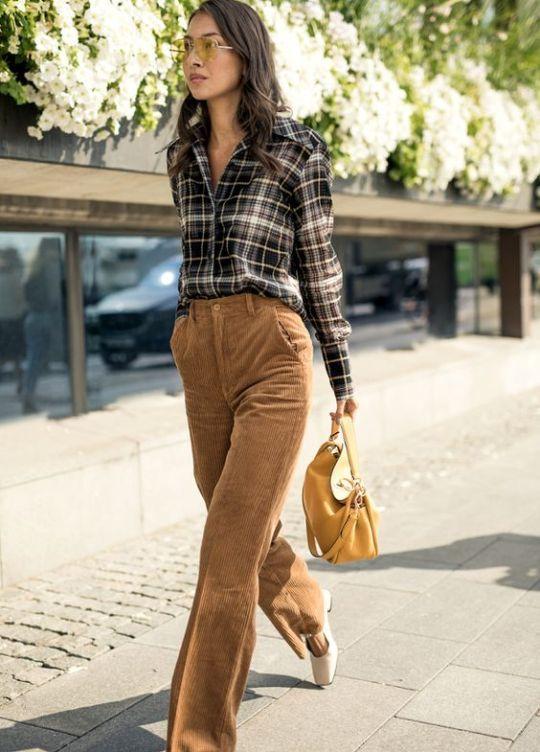 Pin De Latsu En Fall Fashion 2018 Moda Estilo Pantalon A La Cintura Moda Y Complementos