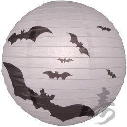 Bat Print Paper Lantern