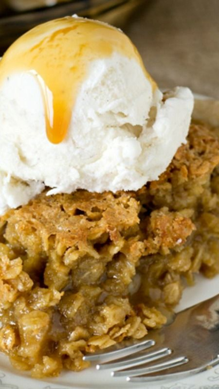 Amish Oatmeal Pie ~ It tastes remarkably like pecan pie. Brown sugar gives a deep, rich flavor to this sweet, simple pie that is a favorite Amish country recipe.