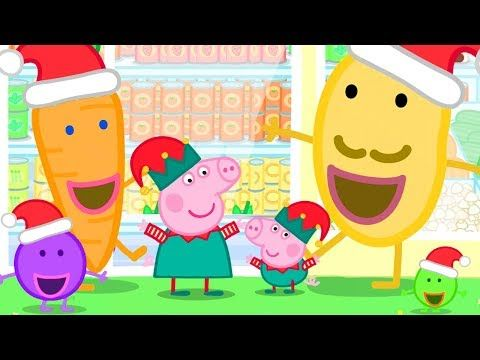 Peppa Pig Official Channel Christmas Shopping At The Supermarket