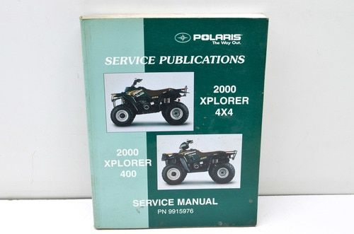 Polaris 2000 Xplorer4x4 400 Service Manual 9915976 Manual Repair Manuals Yamaha Atv