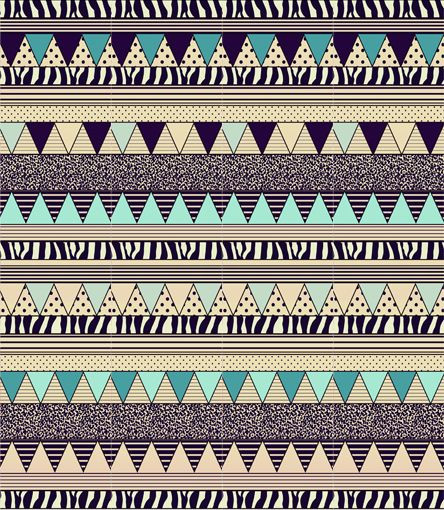 Chambre Japonaise Traditionnelle : Hipster Tribal Pattern Tumblr