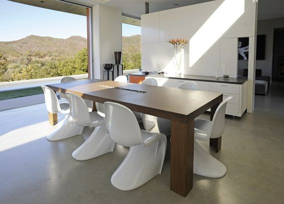 Image result for viesso plyned dining table