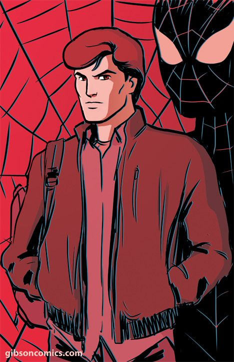 Peter Parker From Spider Man The Animated Series Heros Spiderman Marvel