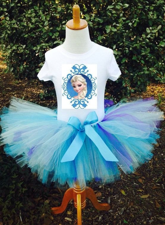 Frozen ELSA inspired Tutu Birthday Outfit  FREE by AllThingsGrand, $34.99: