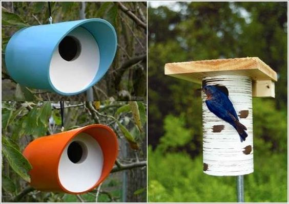 Pvc pipe projects bird houses and pvc pipes on pinterest for How to make pvc pipe birds