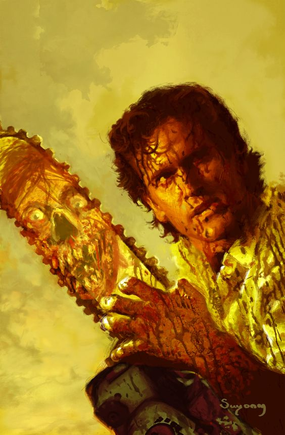 Army Of Darkness Cover Art By Arhtur Sudam