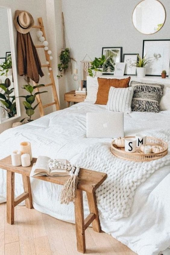 Bohemian And Eco Friendly Style Bedroom Idea Bedroom Makeover Room Ideas Bedroom Bedroom Interior Eco bedroom design ideas