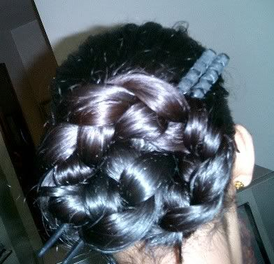 The Styling Station: July Style of the Month: The Braided Bun