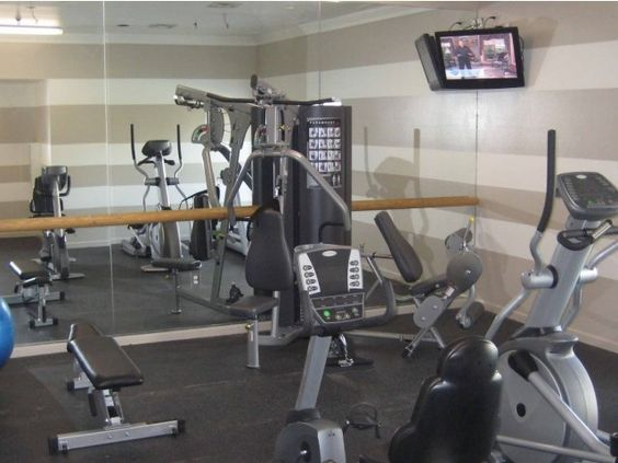 State Of The Art Fitness Center At Village Green On Lake