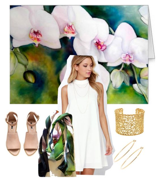 """Orchids Night Out"" by tina-gleave on Polyvore"