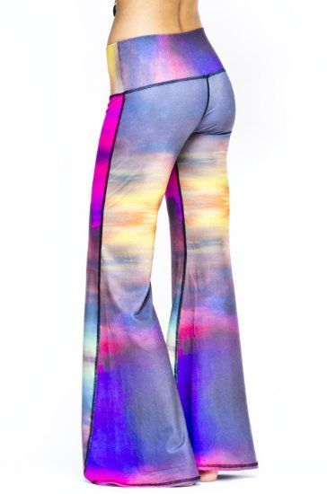 Amazon.com: Clouds Bell Bottoms by Teeki (eco-friendly!) (Small): Clothing