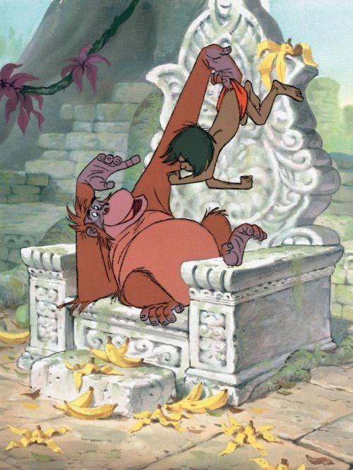 猿とモーグリ
