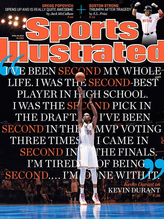 This Sports Illustrated cover with Durant. Wow! #OKC #WeAreThunder