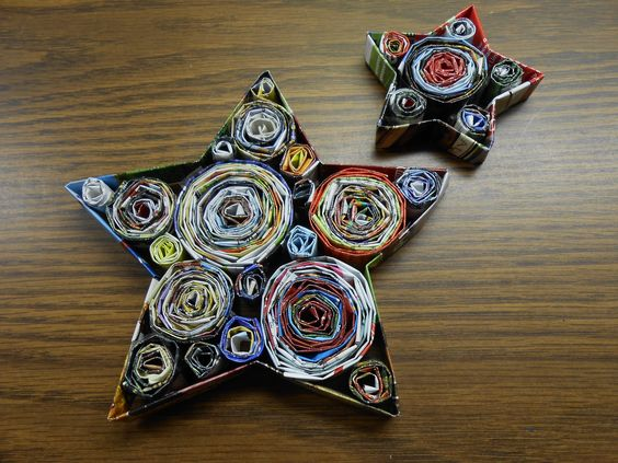 Spirals magazines and fit on pinterest for Holiday crafts for teens