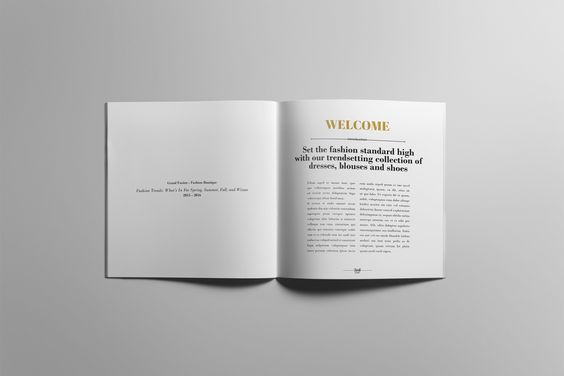 Product Brochure / Lookbook by DIGITAL INFUSION on @creativemarket