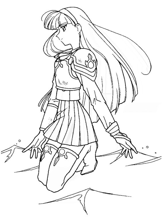 Magic Knight Rayearth  anime e mang  Pinterest  Coloring pages
