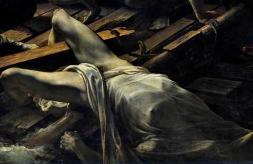Théodore Géricault - Raft of the Medusa (detail)