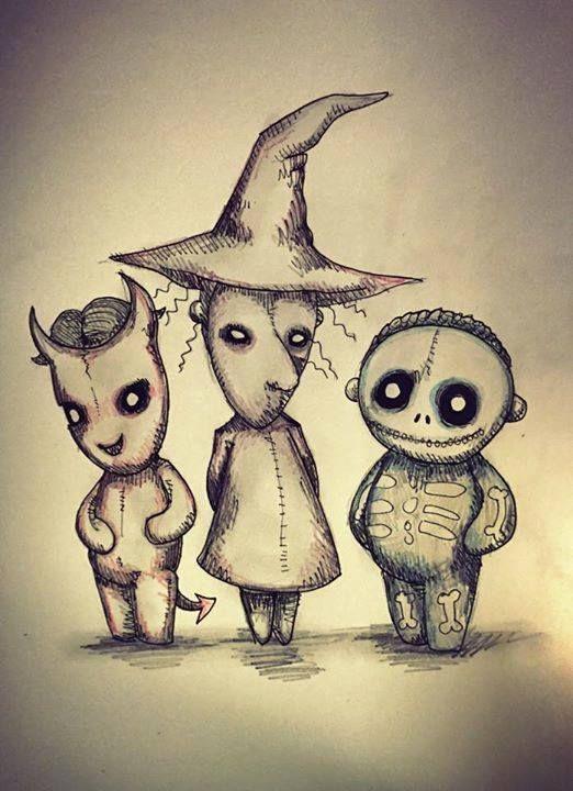 Ethan Roxy And Richard Nightmare Before Christmas Drawings Nightmare Before Christmas Tattoo Tim Burton Art