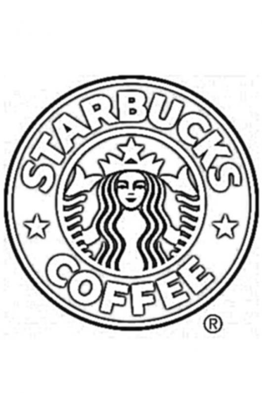 Starbucks Logo Coloring Pages Starbucks Logo Coloring Pages Bucks Logo
