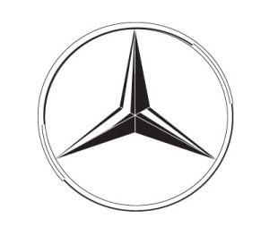 Mercedes logo famous logos logos and symbols for Symbol for mercedes benz